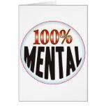 Etiqueta mental felicitación