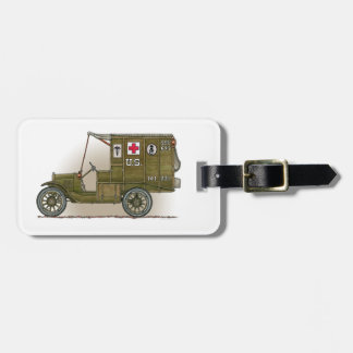 Etiqueta militar del equipaje de la ambulancia del etiqueta para maleta