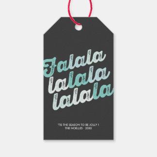 Etiqueta moderna del regalo de vacaciones de la etiquetas para regalos
