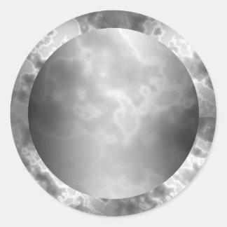 Etiqueta negra del mármol del carbón de leña