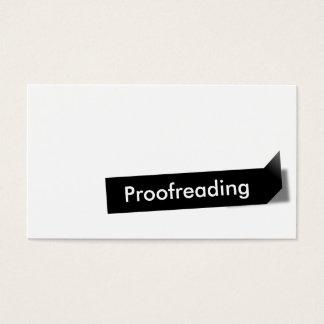 Etiqueta negra moderna que corrige la tarjeta de tarjetas de visita