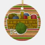 Etiqueta/ornamento que hacen punto - SRF Ornaments Para Arbol De Navidad