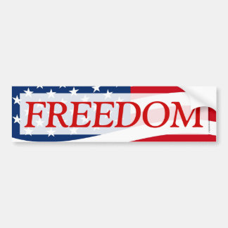 Etiqueta patriótica de la bandera americana de la pegatina para auto
