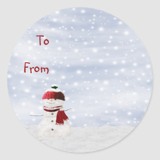 Etiqueta pegajosa del regalo de la etiqueta del na