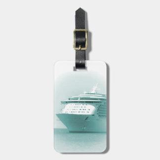 Etiqueta personalizada barco de cruceros del equip etiquetas maletas