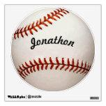 Etiqueta personalizada de la pared del béisbol