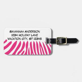 Etiqueta personalizada del equipaje de la foto etiquetas para maletas