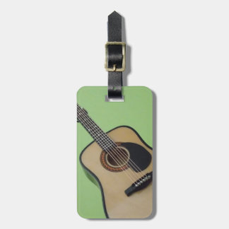 Etiqueta personalizada del equipaje de la guitarra etiquetas bolsas