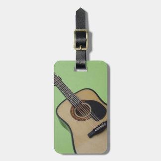 Etiqueta personalizada del equipaje de la guitarra etiquetas bolsa