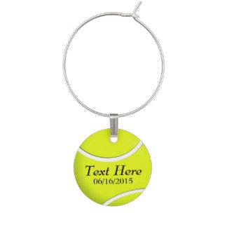 Etiqueta personalizada del vino de la pelota de identificadores de copas
