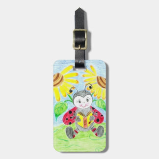 Etiqueta personalizada niño del equipaje de la