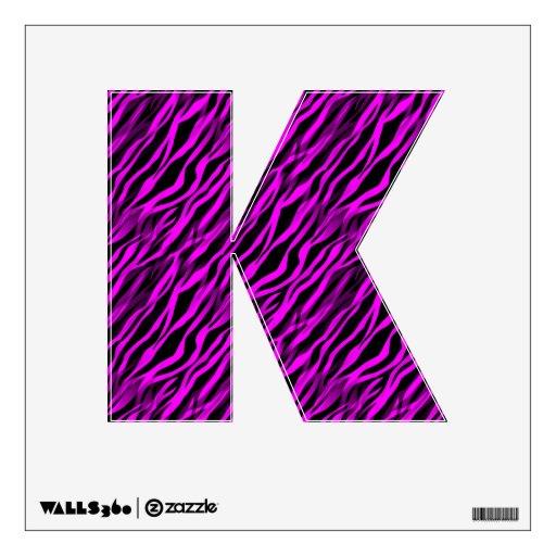 Etiqueta personalizada raya negra rosada de la