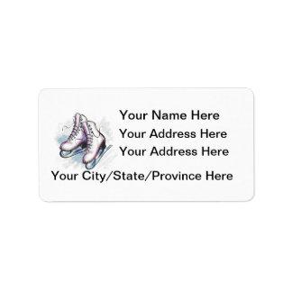¡Etiqueta-Personalizar de la dirección del patinad Etiquetas De Dirección