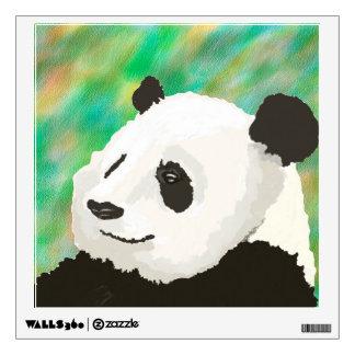 Etiqueta pintada de la pared de la panda vinilo adhesivo