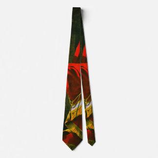 Etiqueta retra 1873 del tabaco corbata personalizada