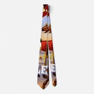 Etiqueta retra del tabaco b 1868 corbata personalizada