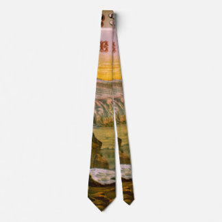 Etiqueta retra del tabaco b 1872 corbata
