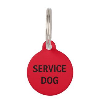 Etiqueta roja personalizada del mascota del perro identificador para mascotas