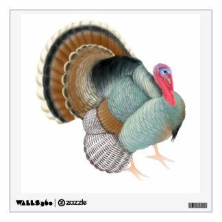 Etiqueta salvaje grande de la pared del pájaro de  vinilo decorativo