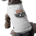Etiqueta sarcástica prenda mascota