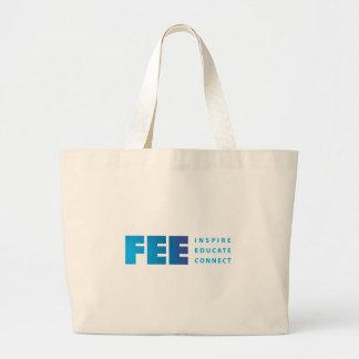 Etiqueta shirt.ai de la pendiente de FEE_tag_RGB Bolsas Lienzo