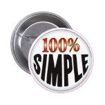Etiqueta simple pin