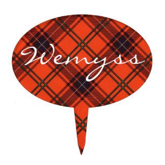 Etiqueta - tartán escocés - Wemyss Decoración Para Tarta