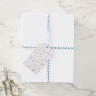 Etiqueta unisex del regalo del bebé etiquetas para regalos