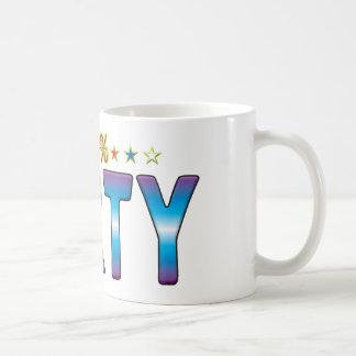 Etiqueta v2 de la estrella de Farty Tazas