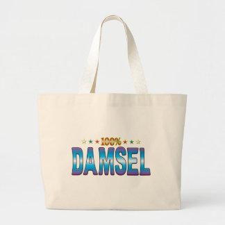Etiqueta v2 de la estrella de la damisela bolsas