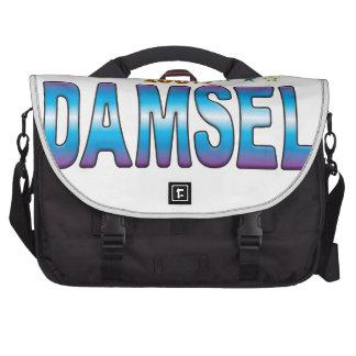 Etiqueta v2 de la estrella de la damisela bolsas de portátil