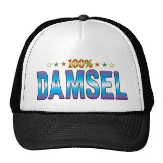 Etiqueta v2 de la estrella de la damisela gorra