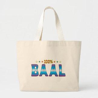 Etiqueta v2 de la estrella del Baal Bolsa Lienzo