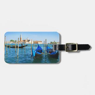 Etiqueta veneciana del equipaje de Laguna