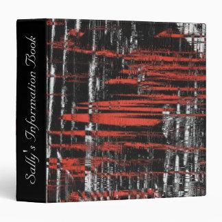 """Etiquetas abstractas del hachís carpeta 1 1/2"""""""