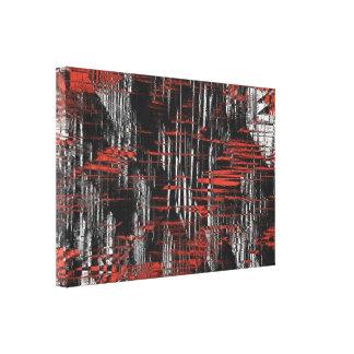 Etiquetas abstractas del hachís impresión en lienzo