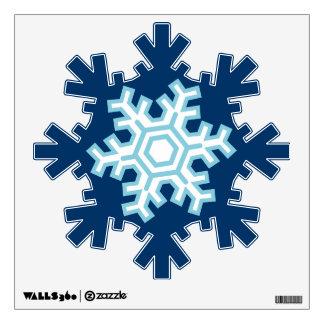 Etiquetas azules de la pared del navidad del día vinilo adhesivo