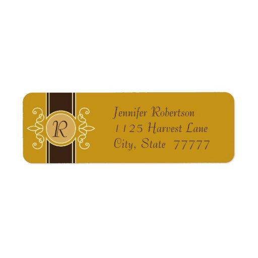 Etiquetas clásicas del remite de la cosecha de la etiqueta de remite