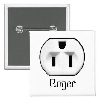 Etiquetas conocidas conocidas de la insignia el |  pin cuadrada 5 cm