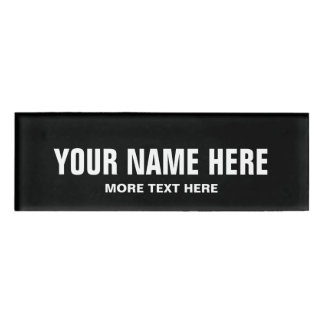 Etiquetas conocidas magnéticas personalizadas para chapa identificatoria