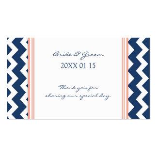Etiquetas coralinas azules del favor del boda de C Plantillas De Tarjeta De Negocio