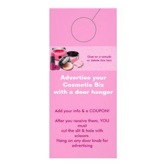 Etiquetas cosméticas de la promoción de la SUSPENS Tarjeta Publicitaria A Todo Color