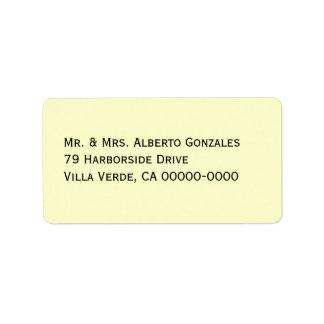 Etiquetas de correo grisáceas de la plantilla de etiquetas de dirección