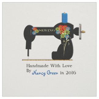 Etiquetas de costura personalizadas sin cortar telas