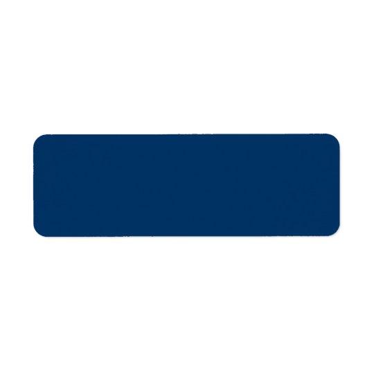 Etiquetas de dirección azul marino del fondo