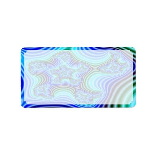 Etiquetas de dirección de encargo del fractal S~11