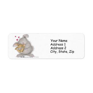 Etiquetas de dirección de HappyHoppers®