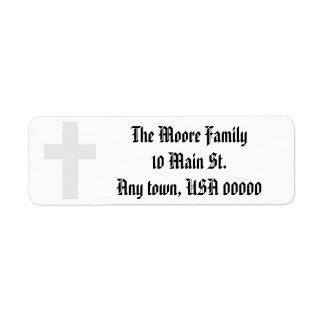 """Etiquetas de dirección de la """"cruz"""""""