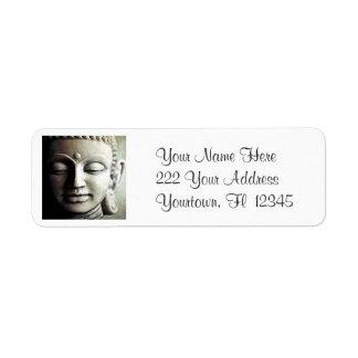 Etiquetas de dirección de la imagen de Buda