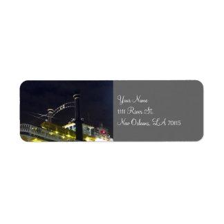 Etiquetas de dirección del barco de la rueda de